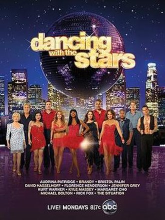 Dancing with the Stars (U.S. season 11) - Promotional poster, featuring celebrity cast