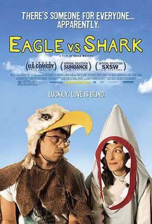 Eagle vs Shark - Theatrical release poster
