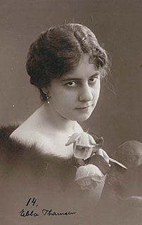 Ebba Thomsen Danish silent film actress