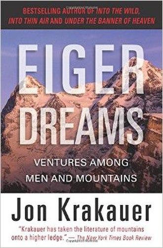 Eiger Dreams - Image: Eiger Dreams bookcover
