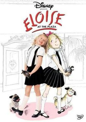 Eloise at the Plaza - DVD cover