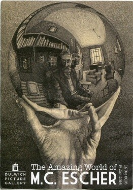 Escher Poster Dulwich Picture Gallery 2015