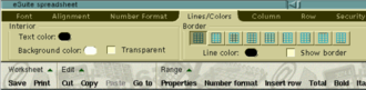 Ribbon (computing) - Tabbed toolbars, as found in Macromedia HomeSite and Lotus eSuite, have been proposed as prior art for ribbons