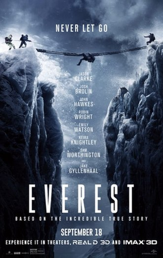 Everest (2015 film) - Theatrical release poster