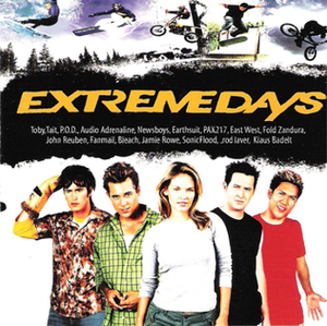 Extreme Days - The Extreme Days soundtrack cover
