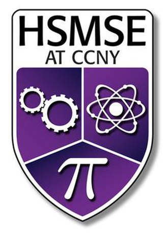 High School for Math, Science and Engineering at City College - Image: FINAL.HSMSE.logo 2a