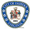 Official seal of City of Fairfax, Virginia