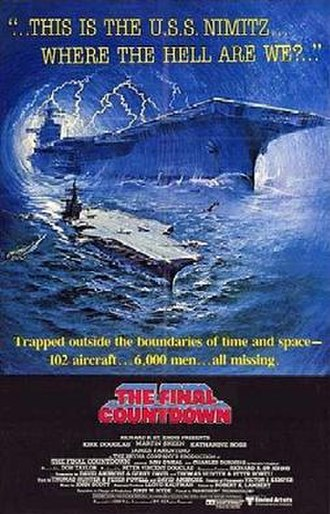 The Final Countdown (film) - Theatrical release poster
