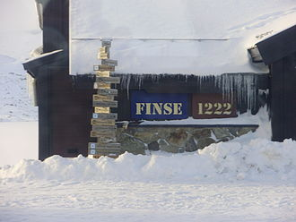 Bergen Line - Finse is the highest point of the Norwegian Railway System, located at 1222m. above sea level.