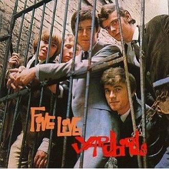 Five Live Yardbirds - Image: Five Live Yardbirds