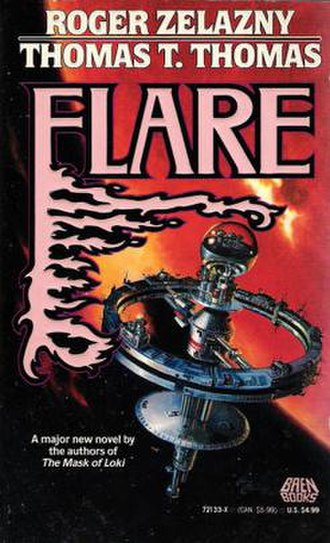 Flare (novel) - Cover illustration from the first edition