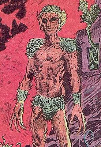 Floronic Man - Art by Steve Bissette and John Totleben