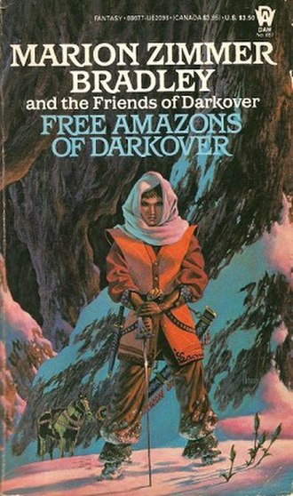 Free Amazons of Darkover - Cover of the first edition