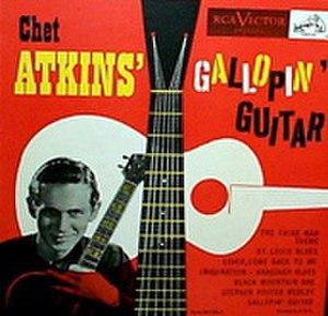 Chet Atkins' Gallopin' Guitar - Image: Gallopin On The Guitar