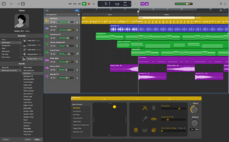 GarageBand - Image: Garage Band 10.0.3