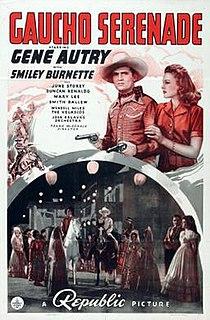 <i>Gaucho Serenade</i> 1940 film by Frank McDonald