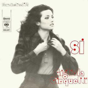 Sì (song) - Image: Gigliola Cinquetti Si