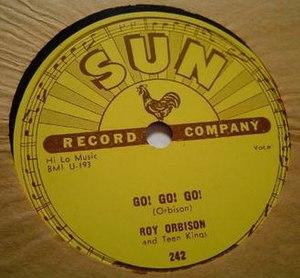 Go Go Go (Roy Orbison song) - Image: Go Go Go Roy Orbison Sun 242