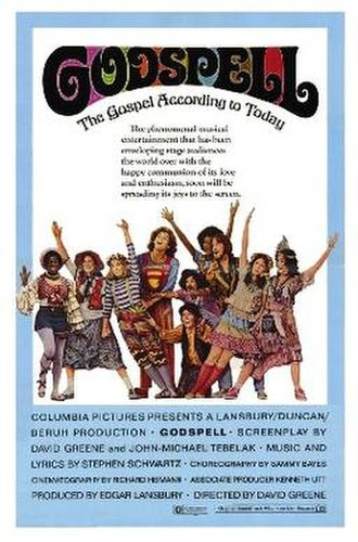 Godspell (film) - Theatrical release poster