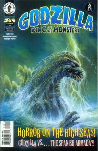 Godzilla (comics) - Image: Godzilla King of the Monsters number 10 cover