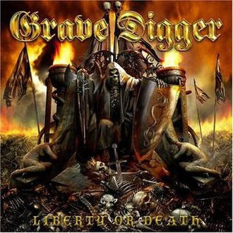 Liberty or Death (album) - Image: Grave digger liberty or death
