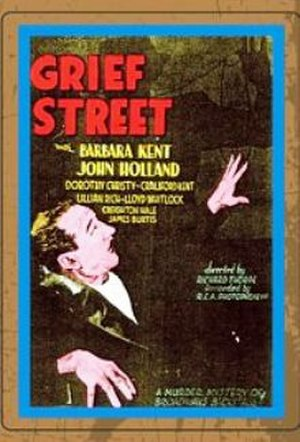 Grief Street - theatrical release poster
