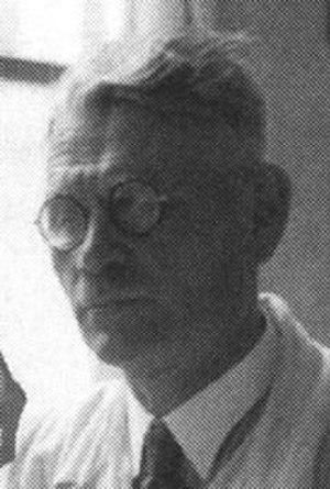Hanns Goebl - Old portrait photo of Hanns Goebl