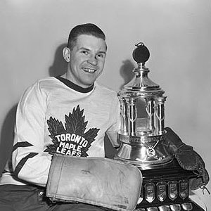 Vezina Trophy - Harry Lumley, one-time Vezina winner.