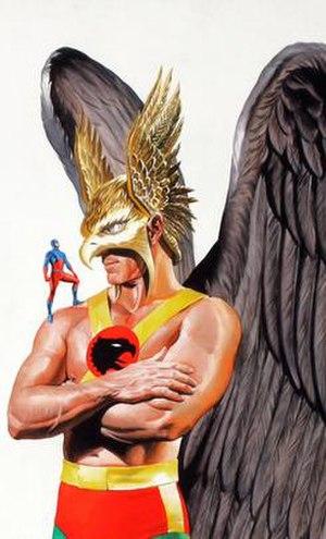Hawkman (Katar Hol) - Image: Hawkman Alex Ross