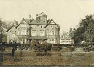 Highlands Gardens - Highlands House, c. 1960s, showing the domed observatory.