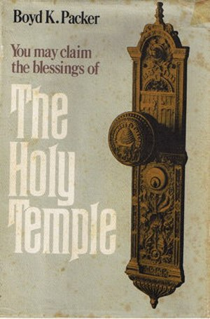 The Holy Temple - Cover of the initial 1980 printing.