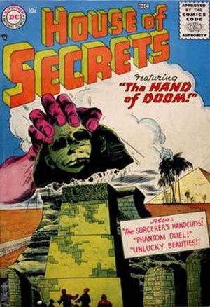 House of Secrets (DC Comics) - Image: House secrets v 1 01