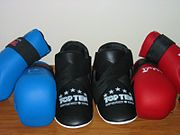 Common styles of ITF Sparring Gear