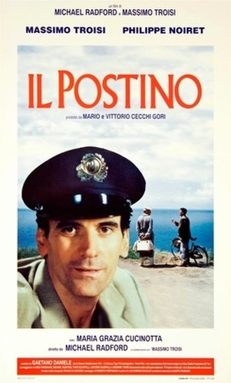 Il Postino: The Postman - Theatrical release poster