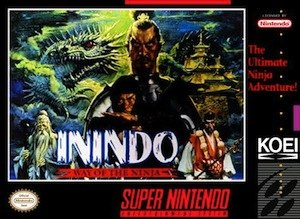 Inindo: Way of the Ninja - Image: Inindo boxart