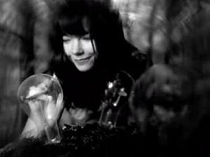 Isobel (song) - Björk harvests planes from the lamps she has seeded in the Isobel music video.