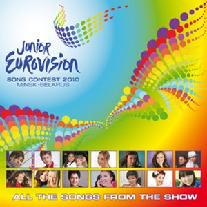 Junior Eurovision Song Contest 2010 - Image: JESC 2010 album cover