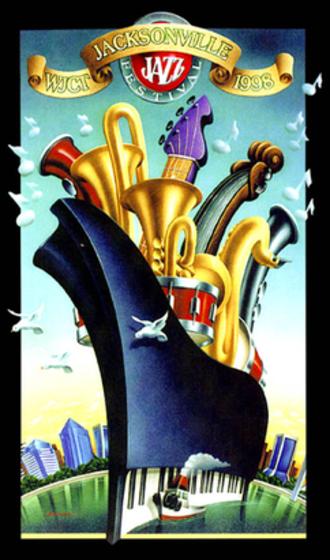 Jacksonville Jazz Festival - 1998 Jacksonville Jazz Festival poster