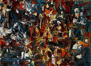 Jean-Paul Riopelle - Jean-Paul Riopelle, 1948, Untitled (sans titre), oil on canvas, 97.5 x 130 cm (38 3/8 x 51¼ in.)