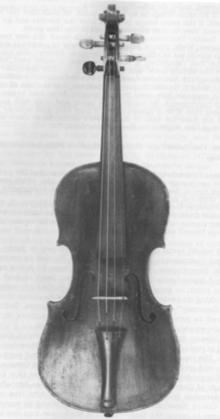 John Antes's 1759 Violin.