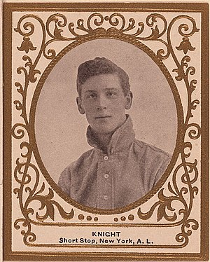 John Knight (baseball) - Image: John Knight baseball