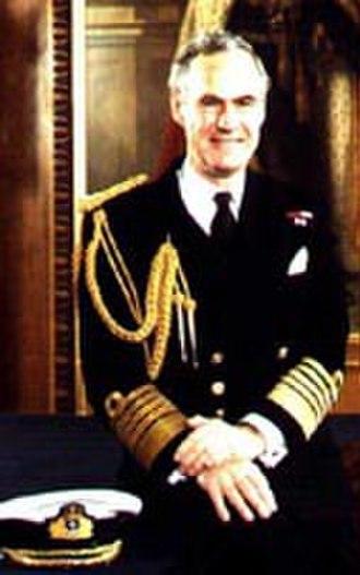 Julian Oswald - Admiral of the Fleet Sir Julian Oswald