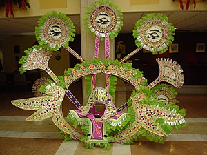 Junkanoo - Image: Junkanoo Costume After The Parade 2006