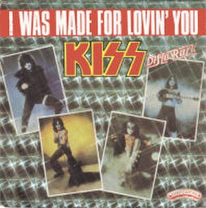 I Was Made for Lovin' You - Image: KISSI Was Made For Lovin You French 7Inch Single Cover