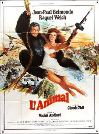 Animal (1977 film) - Theatrical release poster