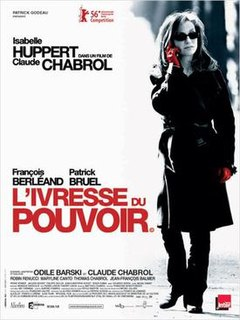 <i>Comedy of Power</i> 2006 film by Claude Chabrol
