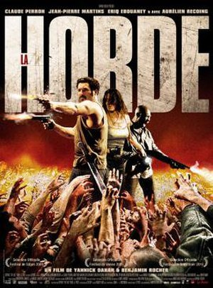 The Horde (2009 film) - French film poster