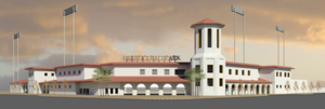 Uni-Trade Stadium - 2011 promotional image of the planned Laredo Ballpark now named Uni-Trade Stadium