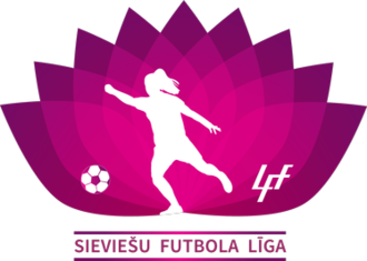 Latvian Women's League - Image: Latvian Women's League logo