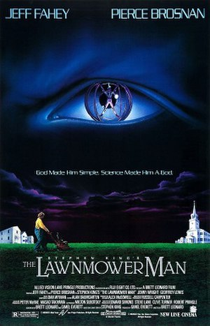 The Lawnmower Man (film) - Theatrical release poster